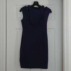 Banana Republic form fitting dress with stretch